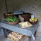 Fresh produce of Kelmscott Manor by BronReid