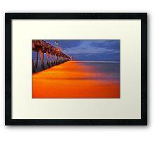 Venice Pier Framed Print