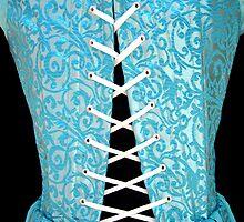 Tie Me up, High Renaissance Corset Detail by Cameron Hampton
