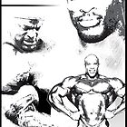 Ronnie Coleman by celebrityart