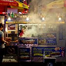 Times Square Street Vendor by jscherr