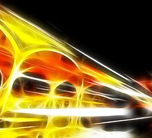 Night on flame by Francesco Malpensi