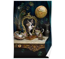 Still Life with Kitten Poster