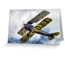 de Havillands D.H. 82 Tiger Moth Greeting Card