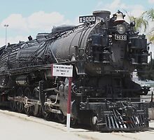 Union Pacific 3-Cylinder 4-12-2 9000..... by DonnaMoore