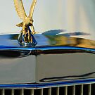 1986 Zimmer Golden Spirit &quot;Eagle&quot; Hood Ornament 2 by Jill Reger
