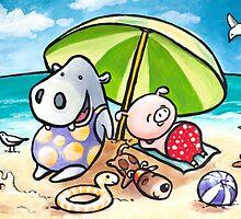 Beach Buddies by shellybell