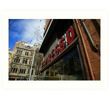 espresso. pellegrinis, melbourne  Art Print