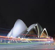 """Sydney Opera House """"Trails of Light"""" by iDeal Photography > Rob Gibson"""