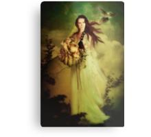 Demeter Goddess of the Harvest Metal Print