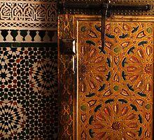 Moroccan door by Jodi Fleming