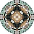 Frog Mandala by Pam Blackstone