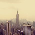 NY Empire State Building by Alena Khandryka