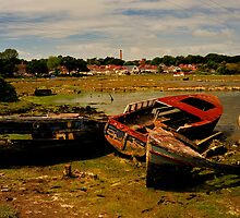 Poole Harbour - Old Boats by delros