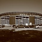 Shea Stadium - New York Mets by Frank Romeo