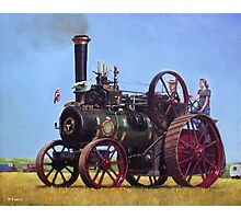 steam traction engine Ransomes Sims and Jefferies General Purpose Engine Photographic Print