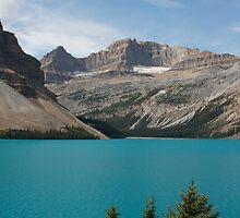 lake in canada,rocky montains by milena boeva