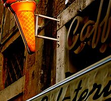 Gelateria Sign (Rome, Italy) by Lori  Heiss