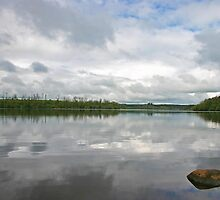 Lough Key Reflections by Martina Fagan