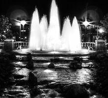 Oklahoma City Fountain  by Marcia Rubin