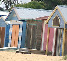 Beach-shacks,Mornington Peninsular,Victoria. by elphonline