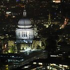 St. Paul's Cathedral Brid's Eye by Andre090904