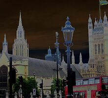 Westminister Abbey-solarized by Darrell-photos