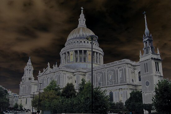 Around London- solarized  by Darrell-photos