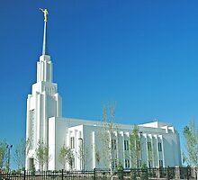 Twin Falls Idaho LDS Temple by Nick Boren