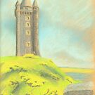 Scrabo Tower, Northern Ireland by Hilary Robinson