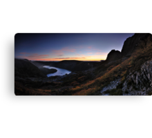 Cradle Dawn Pan Canvas Print