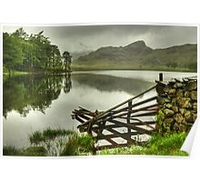 Blea Tarn.....The Fence In May Poster