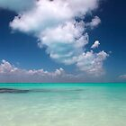 caribbean sea and sky by milena boeva