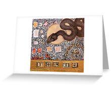 Totem V Greeting Card