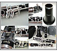 Clarinet Bliss - Command Performance Photographic Print