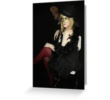Glamorous Assistant #4 Greeting Card