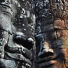 Bayon Temple - Siem Reap, Cambodia by Marty Samis