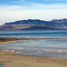 View to the Jetty-Antelope Island-Utah by Bellavista2