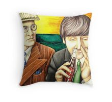 Wilfrid and John - scene from A Hard Day's Night 205 views Throw Pillow