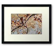 Four Corners Framed Print