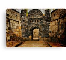 Hwaseong Fortress Gate Canvas Print