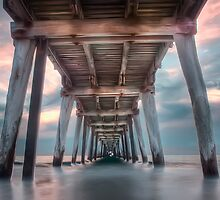 Twilight Jetty Panograph by Shannon Rogers