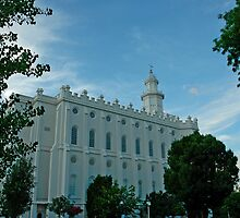 St. George Utah LDS Temple by Nick Boren