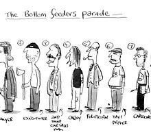 bottom feeders parade by Loui  Jover