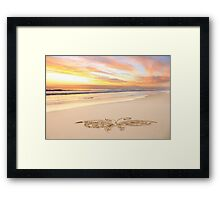 The Charles Morrow Butterfly Framed Print