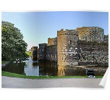 Beaumaris Castle, Anglesey, N.Wales Poster