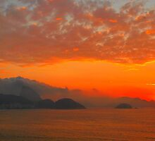 Rio de Janeiro by sunrise by supergold