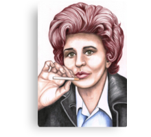 Strong women characters of Coronation Street : Elsie Tanner Canvas Print
