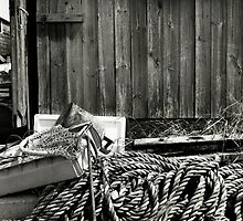 Rope and Anchor - Brancaster Staithe, Norfolk, UK by Richard Flint