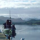 ULLSWATER STEAMER. by LAWSON TAYLOR
